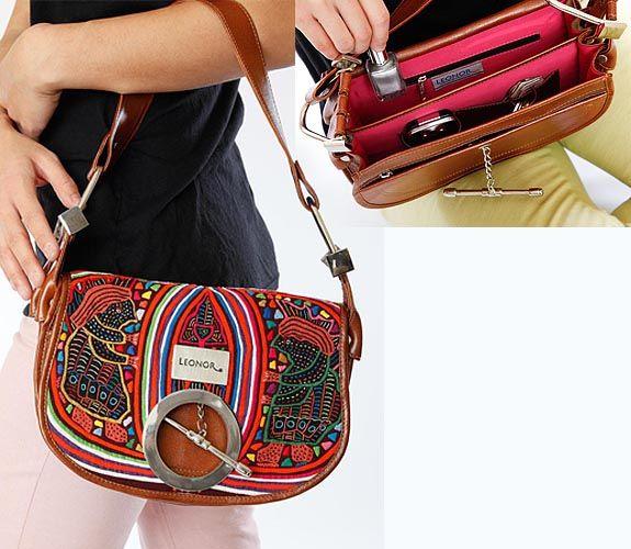 Leonor presents Molas: Carriel Bag