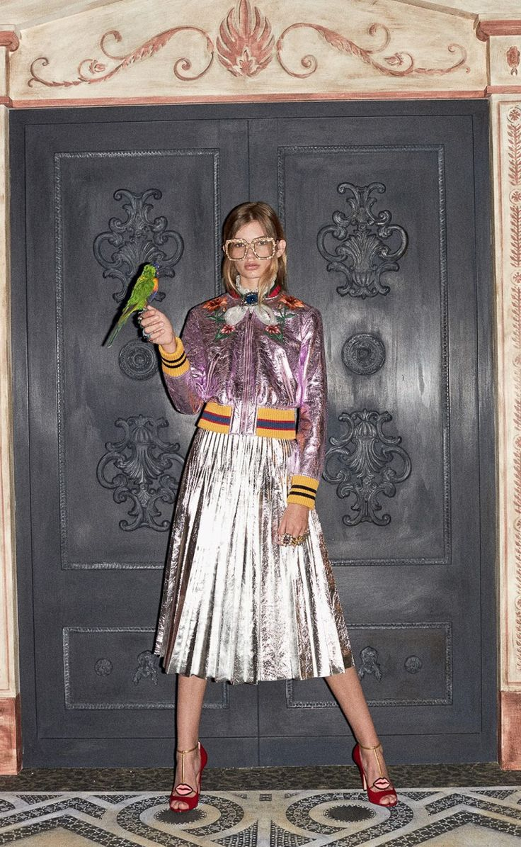 Gucci Pre Fall 2016 – Paula Schinschel by Ari Marcopoulos