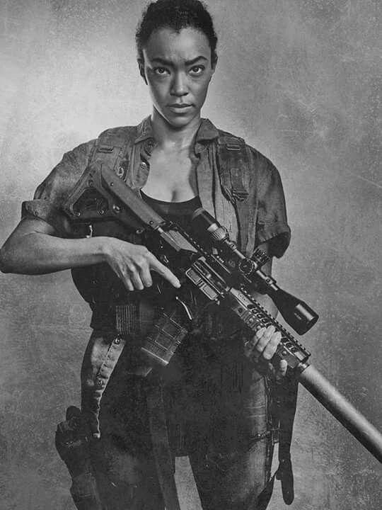 The Walking Dead Season 6 Sasha