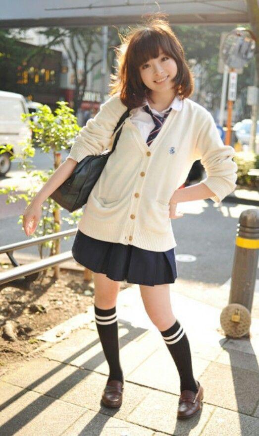 Japanese schoolgirl:):