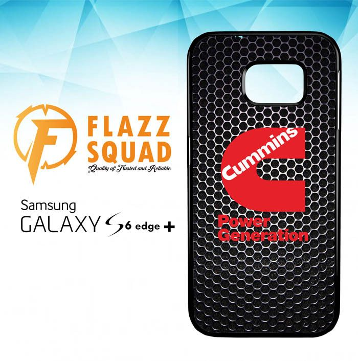 cummins Power Generation logo Z3884 Samsung Galaxy S6 Edge Plus Case