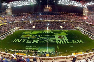 San Siro home to both Inter Milan and AC Milan