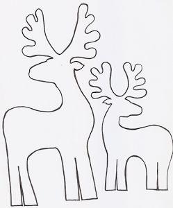 El paso a paso y plantillas para hacer renos de cartón de forma sencilla. No te pierdas cómo crear las figuras de una forma sencilla.