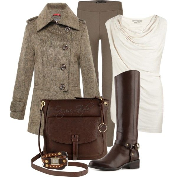 Riding Boots and Tweed Coat :)