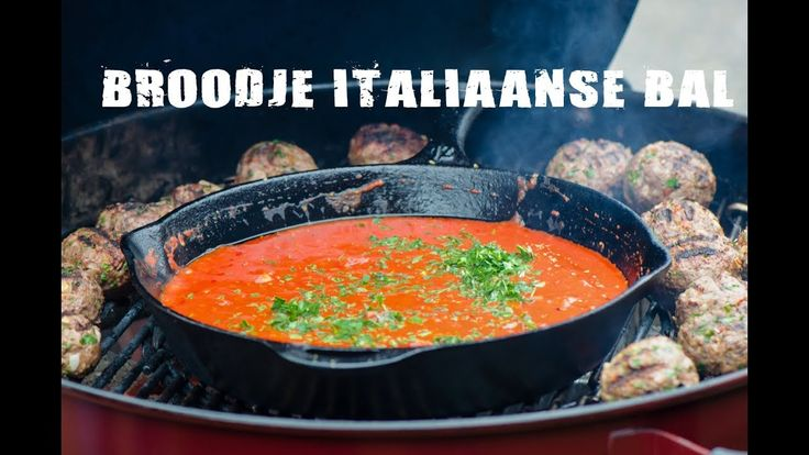 Broodje Italiaanse Bal | Fire&Food TV