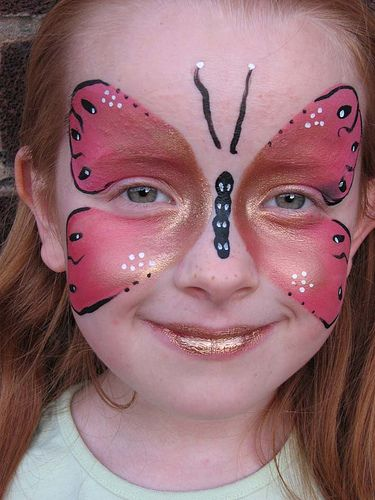 Best 25 Face painting butterfly easy ideas on Pinterest