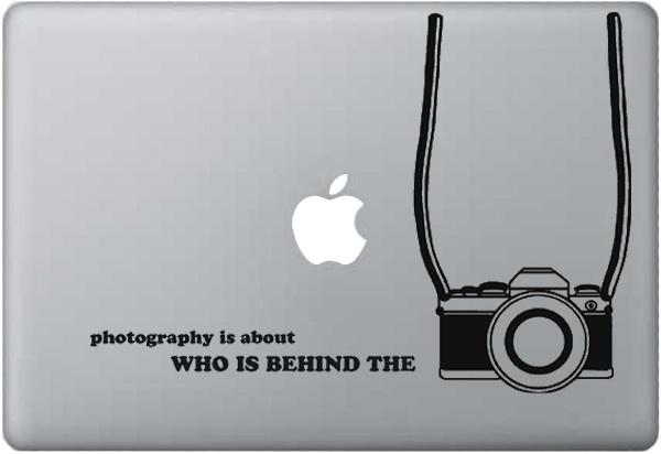 MacBook decal : Camera