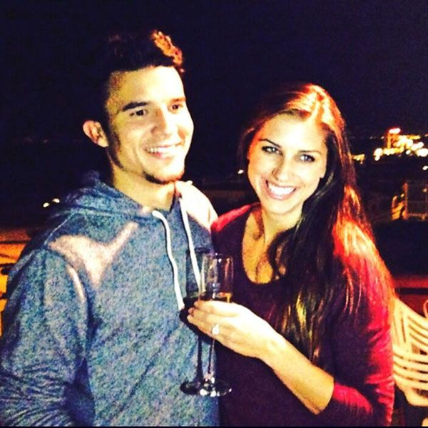 Soccer Stars Alex Morgan and Servando Carrasco Wed http://www.people.com/article/alex-morgan-servando-carrasco-married-soccer-players