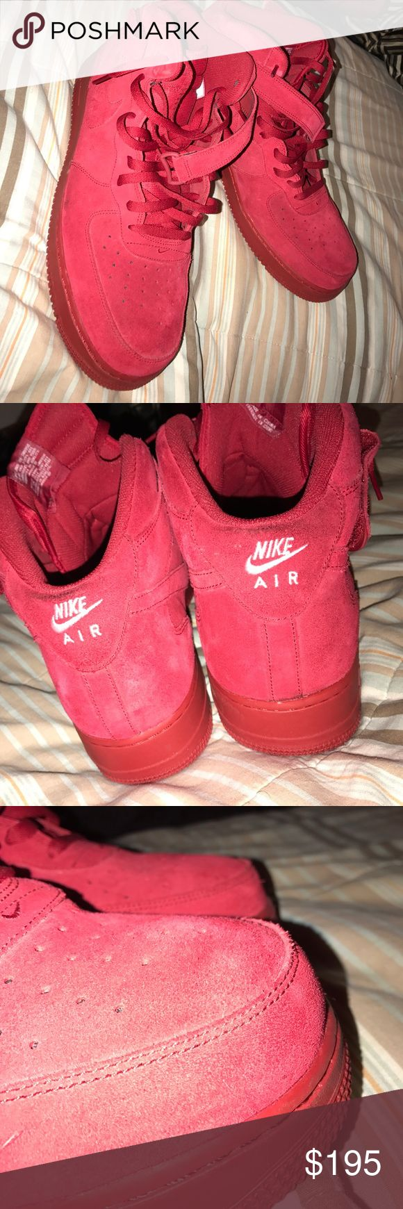 Nike Air Force mid top Conditioning 9.9  BEST OFFERS only wore for 5 mins Nike Shoes Sneakers