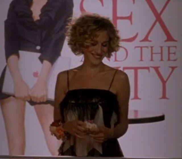 La presentación del libro de Carrie Bradshaw en Sexo en Nueva York