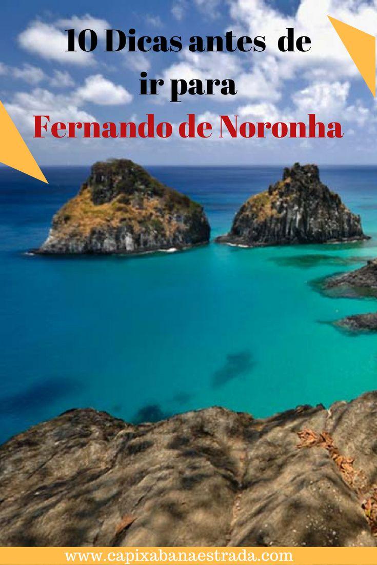 Conheça 10 dicas antes de viajar para Fernando de Noronha, Brasil.