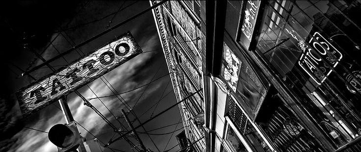 Tattoo Parlour #Toronto Canada  #monochrome #torontolife #torontophotographer #torontophotography