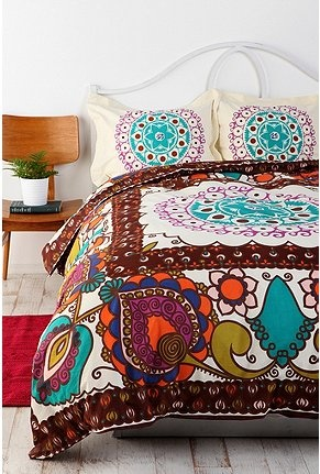 duvet: Urban Outfitters, Guest Bedrooms, Spare Bedrooms, Beds Spreads, Duvet Covers, Boho Duvet, Guest Rooms, Beds Sets, Mod Boho