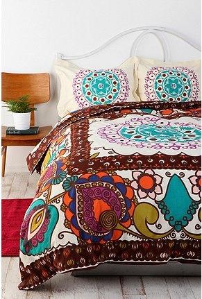 $89 UrbanOutfitters.com > Mod Boho Duvet Cover