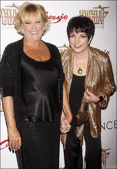 Liza Minnelli and Lorna Luft at NYC Dance Alliance Foundation Gala