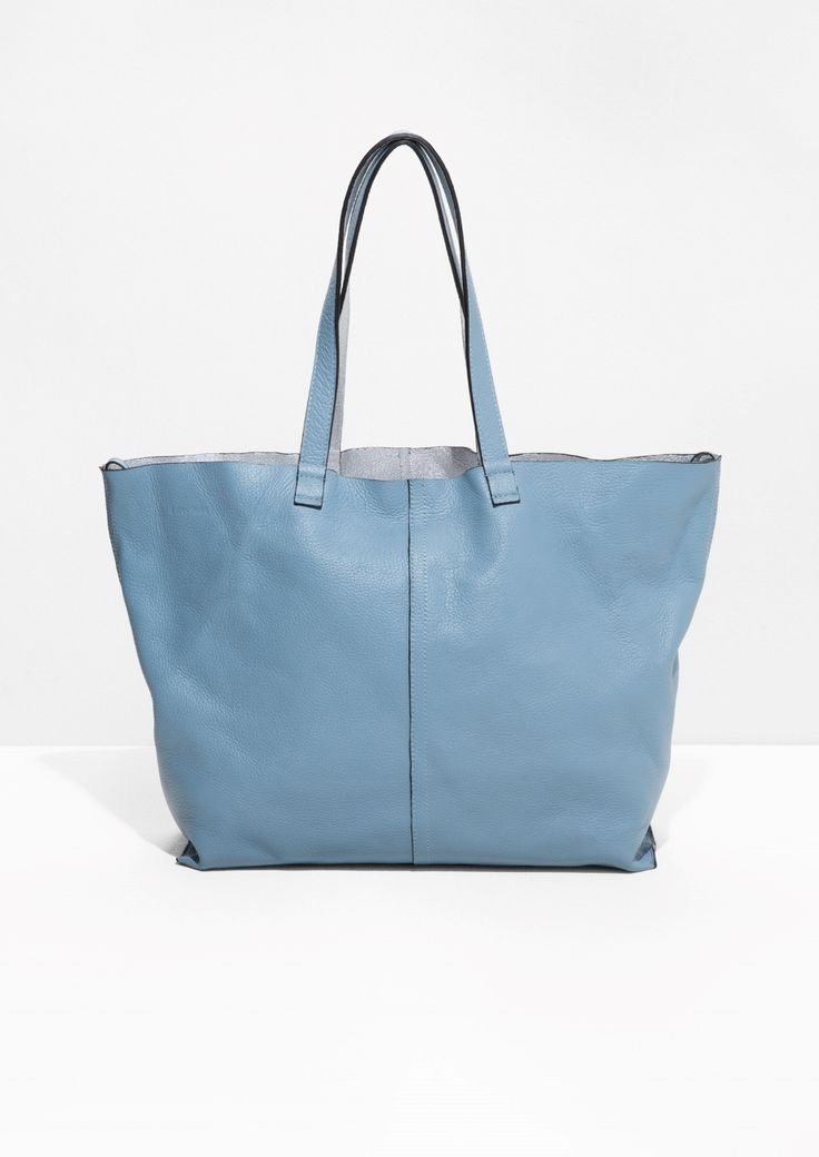 & Other Stories | Reversible Leather Shopper