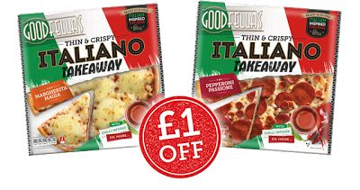 £1 off Coupon for Italiano Pizza #vouchers #coupons