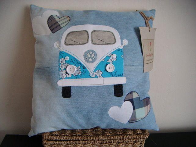 Personalised LOVE MY Campervan Cushion  £32.00