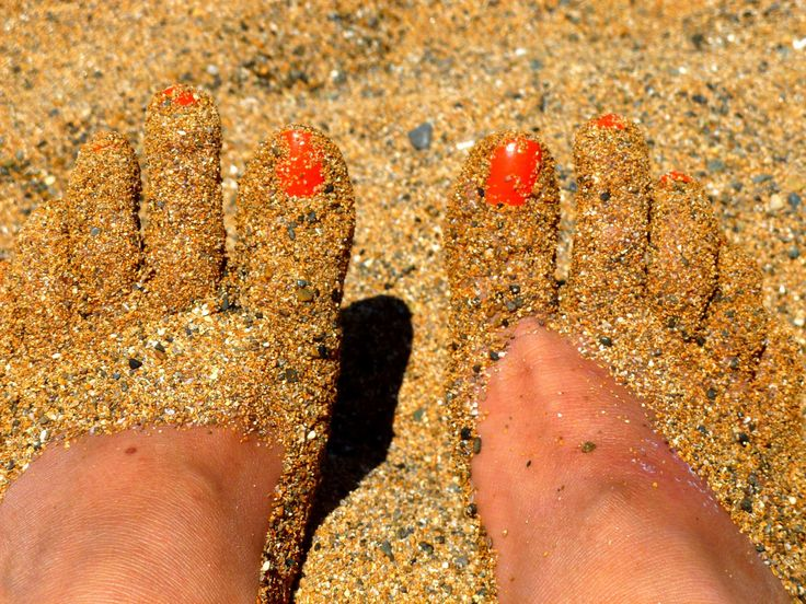 #barefoot #beach #feet #holiday #painted toenails #part of the body #relax #relaxation #royalty free #sand #sandy #summer #woman