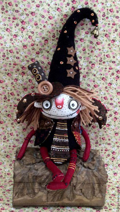 Коллекционные куклы ручной работы. Ярмарка Мастеров - ручная работа. Купить Братья Домовые.. Handmade. Коричневый,…