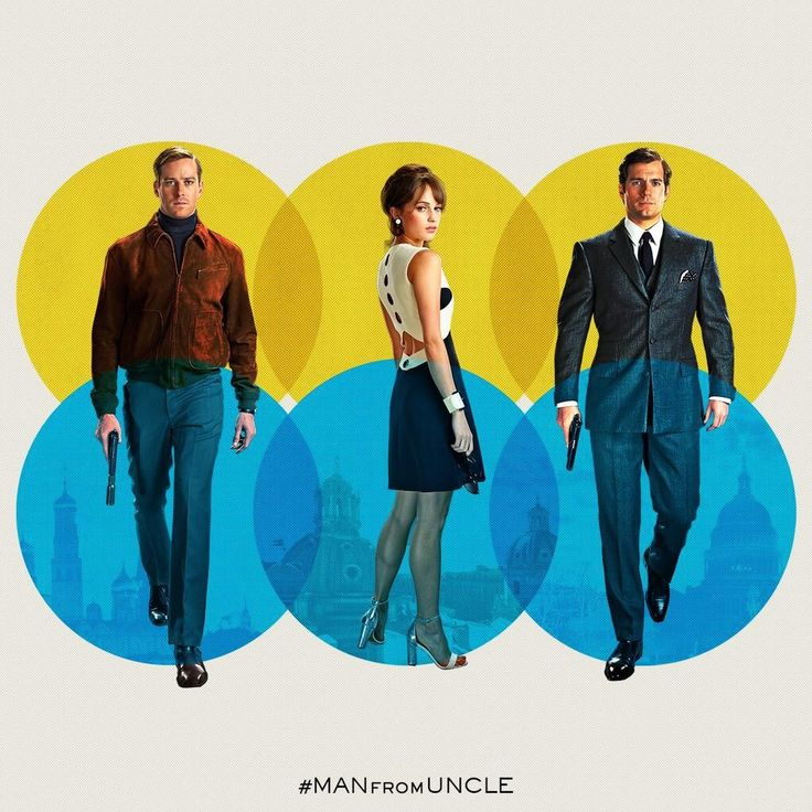 "The Man From U.N.C.L.E (2015) | The film's visuals are stunning, it's pure eye candy. I mean, if there's something truly memorable about ""The Man from U.N.C.L.E"", then the fashion would definitely be it. Forget about the acting, the action, the comedy or the the chemistry between the leading actors. In my opinion, the clothes and all the beautiful filming locations were the elements that made the film exciting."