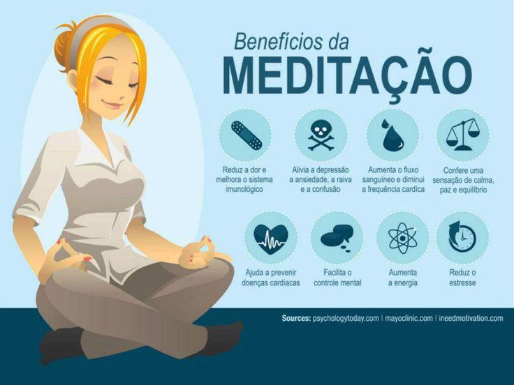 Benefícios da meditação!