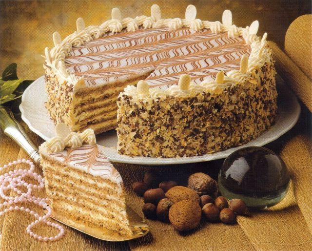 Esterhazy Torta Recept My Style Esterh 225 Zy Kock 225 S