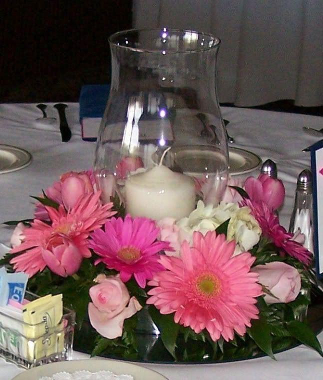 Fresh flower table wreath wedding centerpieces