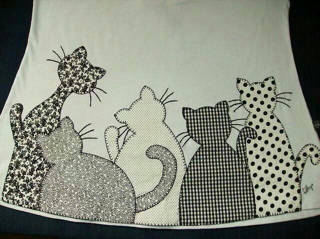M s de 25 ideas fant sticas sobre pijama de gato en for Aplicaciones decoradas