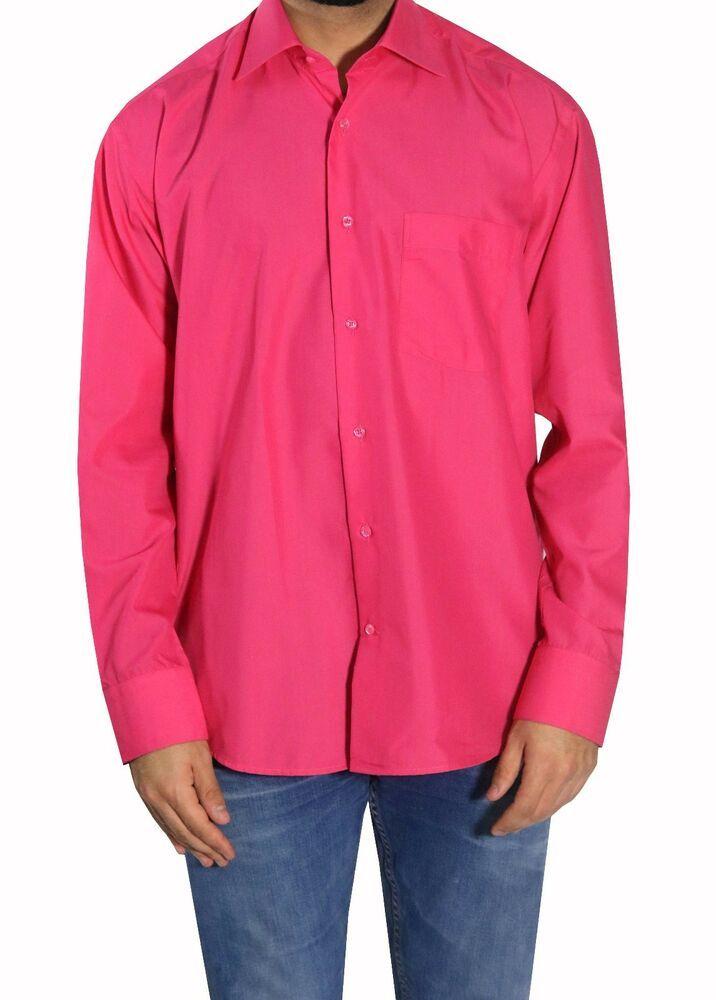 new styles cac3b 283f6 Muga Herren Hemd tailliert Gr.6XL Pink #fashion #kleidung ...