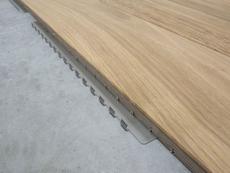 Sistema di posa modulare per parquet CLIP UP SYSTEM® By GARBELOTTO