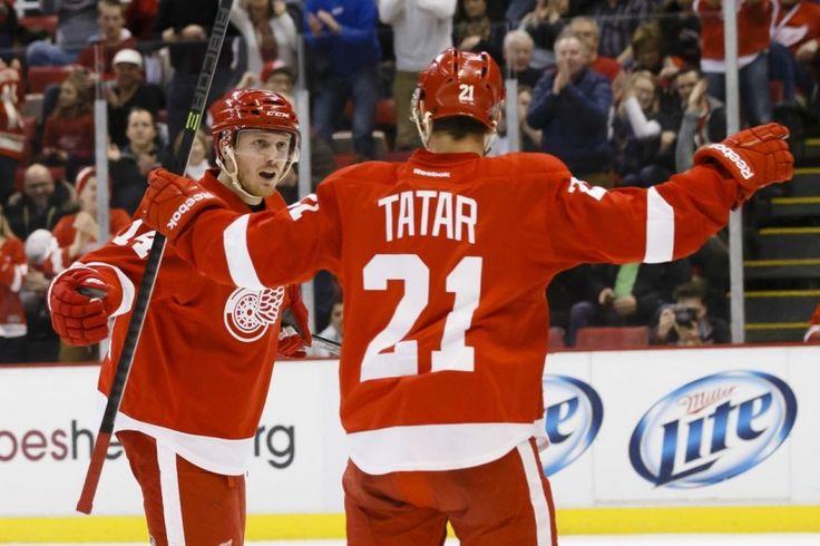 Gustav Nyquist and Tomas Tatar - The New Datsyuk and Zetterberg? - http://thehockeywriters.com/gustav-nyquist-tomas-tatar-new-datsyuk-zetterberg/
