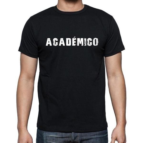 #negro #palabra #camiseta  Caminar por la calle en nuestras camisetas como si estuviera en la desfile de moda! Comprar online ->https://www.teeshirtee.com/collections/men-spanish-dictionary-black/products/academico-mens-short-sleeve-rounded-neck-t-shirt