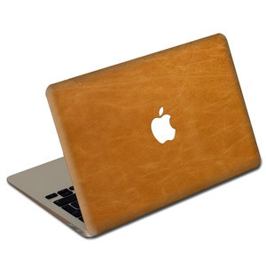 """MacBook 15/17"""" Leather Tan, $38, now featured on Fab."""