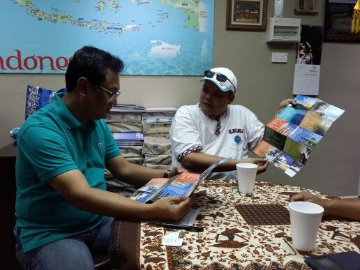 AHCM with Visit Indonesia Tourism Office Chairman, Pak Sulaiman Shehdek