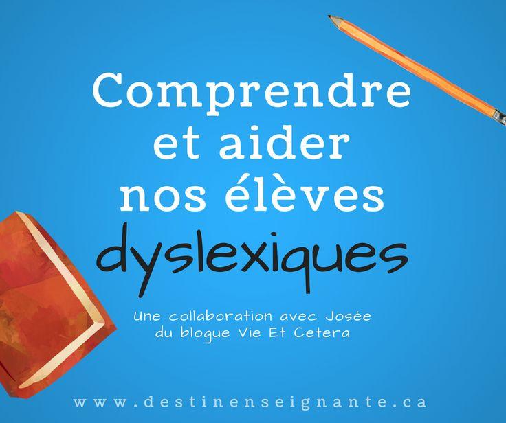 Comprendre et aider nos élèves dyslexiques Josée Tardif Vieetc.com