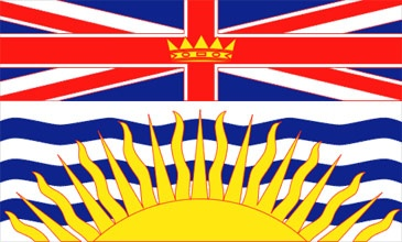 British Columbia:  Made into a province on July 20, 1871,  Capital is Victoria,  The Premier right now is Christy Clark,  The flower is the Pacific Dogwood,  The tree is the Western Red Cedar,  The bird is the Steller's Jay.