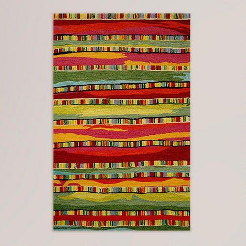 One of my favorite discoveries at WorldMarket.com: Fiesta Mosaic Tufted Wool Rug