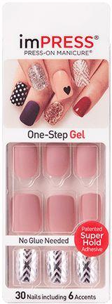 imPRESS Matte Gel Nails and Chrome Design Accents - Meadowlark