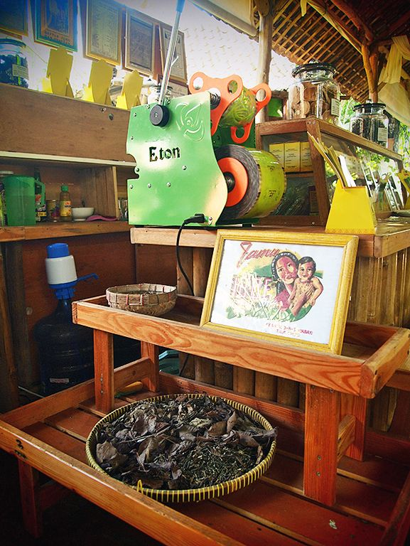 Herbal parlor: This parlor is serving javanese traditional herbal medicine known as Jamu. (Photo by Mary Sasmiro).