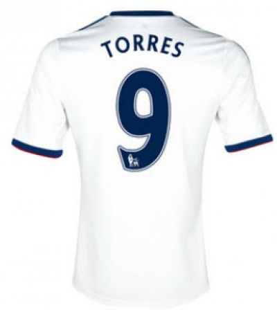 Maillot de Foot Chelsea (9 Torres) Exterieur Adidas Collection 2013 2014 Blanc Pas Cher http://www.korsel.net/maillot-de-foot-chelsea-9-torres-exterieur-adidas-collection-2013-2014-blanc-pas-cher-p-1836.html