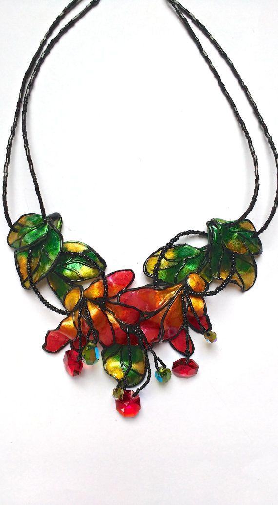 Tiffany Stained Glass Inspired Polymer by TresJolieDesignsbySu
