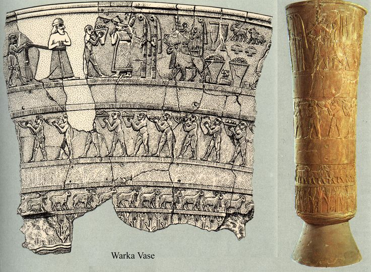 Introduction to the History of Art: Sumerian Art: The Warka Vase