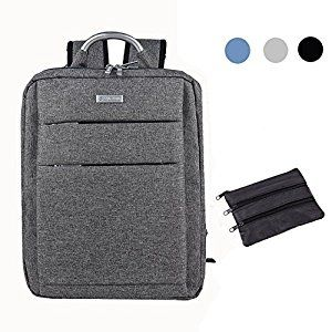 Amazon.com: SHAOLONG Nylon Waterproof Laptop Backpack 15.6 Inch Computer Bag Business Bag School Backpack Traveling Backpack Gray: Computers & Accessories