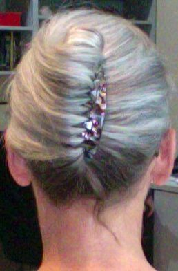 Would love to get my hair in a really great French twist.  The Silver Fox, Stunning Gray Hair Styles In 2012. Watch video!