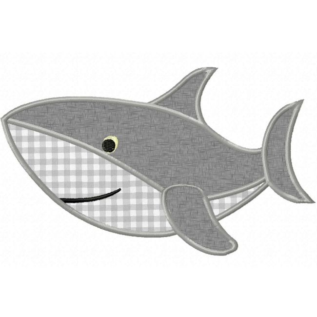 Shark Applique