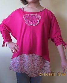 EL BAÚL DE LAS COSTURERAS: Confección blusa manga dolman. Delantero y Escote