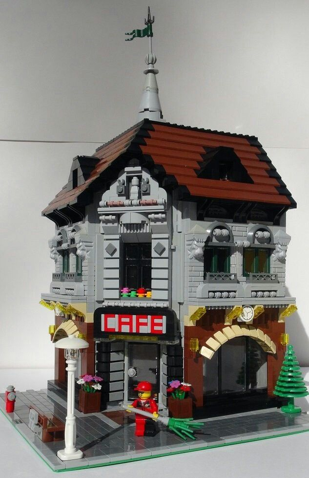 The main building of our modular layout of the city with children