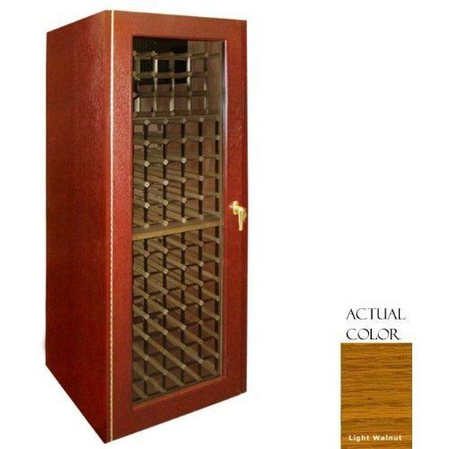 Vinotemp Vino-250g-ltwa 160 Bottle Wine Cellar - Glass Doors / Light Walnut Cabinet by Vinotemp. $3149.00. Vinotemp VINO-250G-LTWA 160 Bottle Wine Cellar - Glass Doors / Light Walnut Cabinet. VINO-250G-LTWA. Wine Cellars. This Vinotemp Wine Cellar features a space-saving design combined with a high quality oak exterior and classic brass finish piano hinges. The wine mate self contained cooling system ensures proper circulation while your wine is stored safely away. Digit...