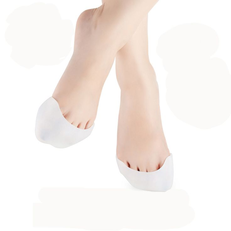 1pair Finger Protector Silicone Gel Pointe Toe Cap Cover For Toes Soft Pads Protectors for Pointe Ballet Shoes Feet Care Foot